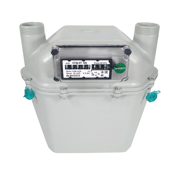 Счётчик газовый СГД-3Т G6