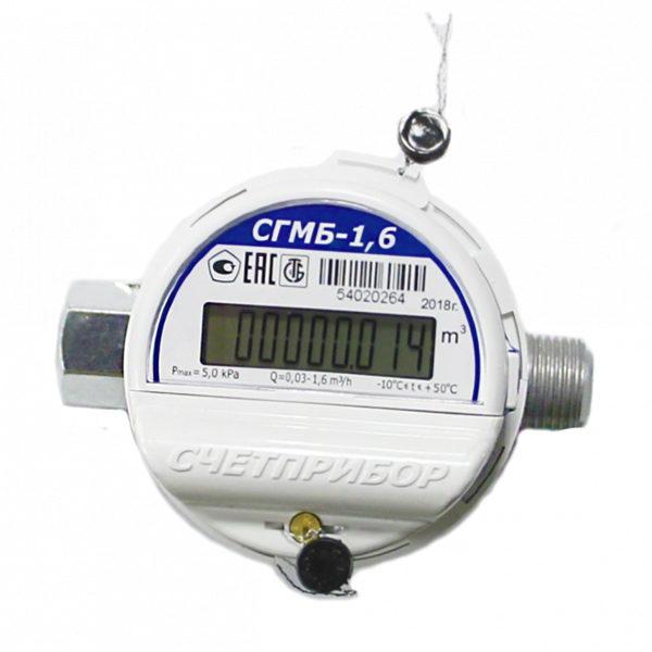 Счётчик газовый СГМБ-1,6