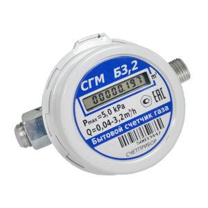 Счётчик газовый СГМБ-3,2