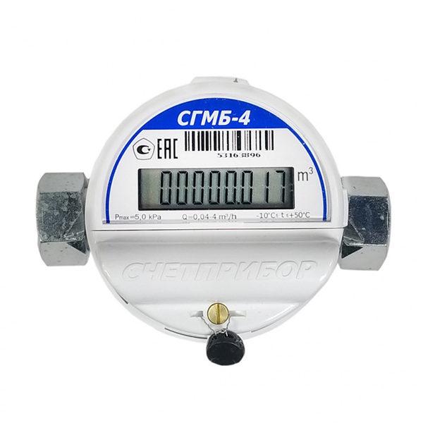 Счётчик газовый СГМБ-4